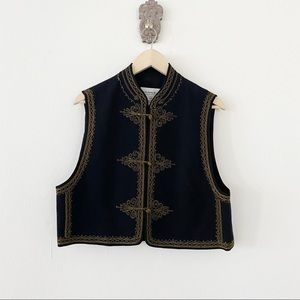 Emanuel Ungaro Embroidered Vest